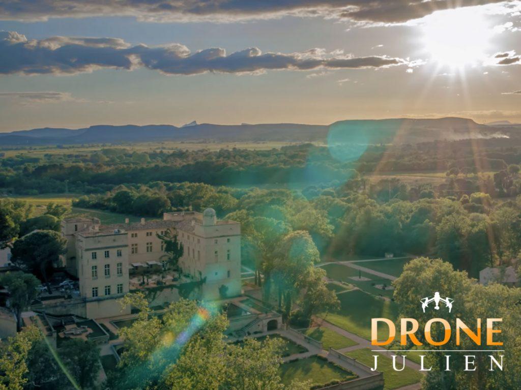 château et domaine - drone montpellier