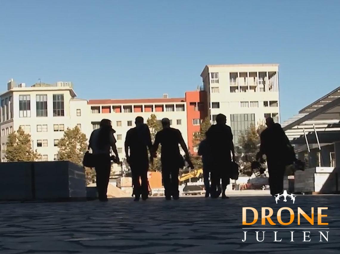 drone mairie montpellier