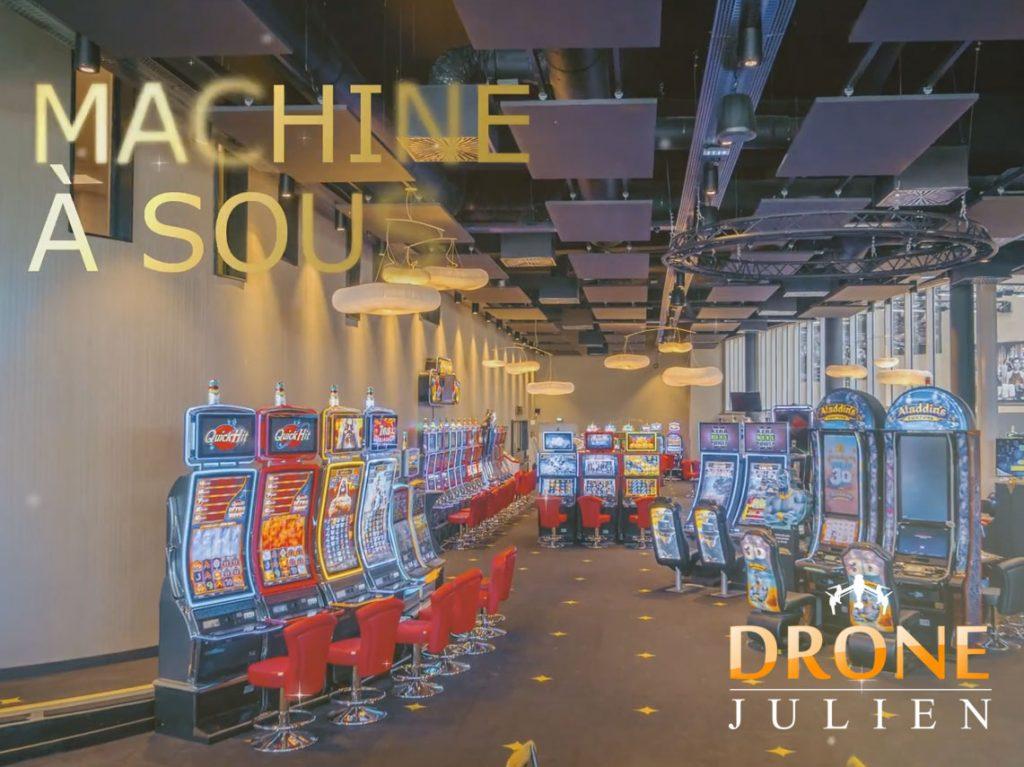 Réalisation vidéo casino