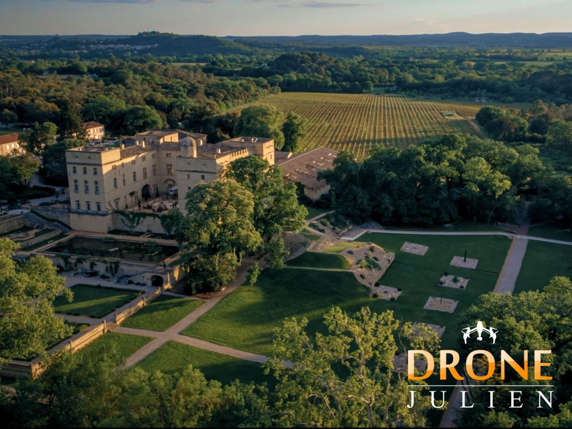 vidéo drone domaine