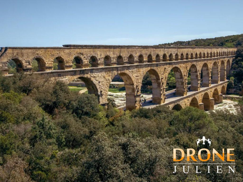 drone tourisme gard