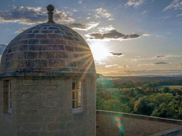 drone chateau dans l'Hérault et Montpellier