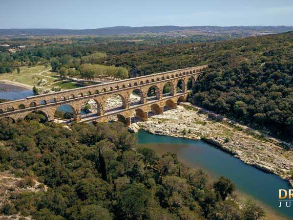 Drone sur le gard et l'hérault pour site touristique