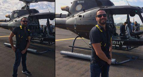 prises de vues par hélicoptère