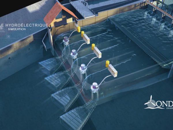 Drone et vidéo images de synthèse 3D