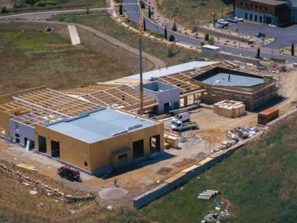 Suivi de chantier en drone sur Montpellier