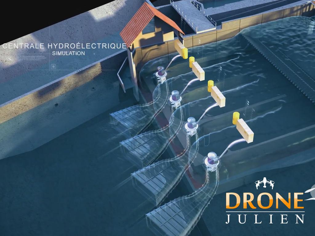 3d, images de synthèse, drone, Montpellier
