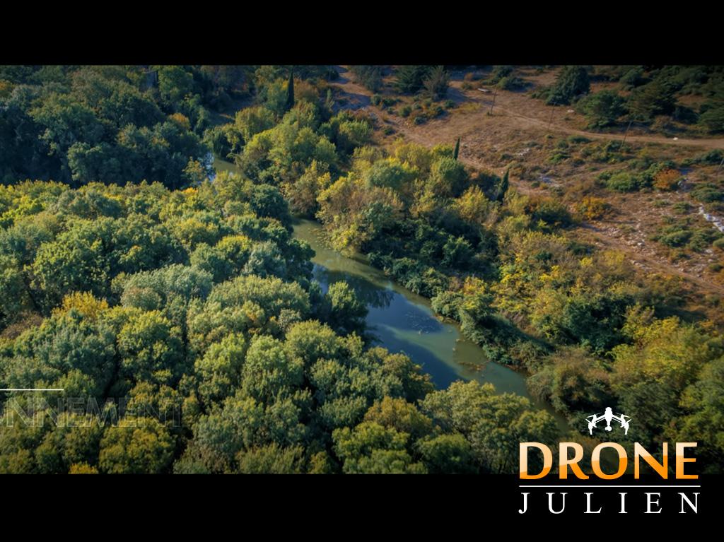 drone pour vidéo environement hérault