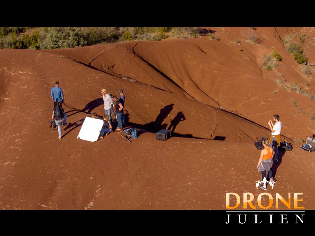 prestation drone clip musique
