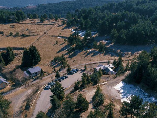 prises de vues drone pour vidéo grotte occitanie