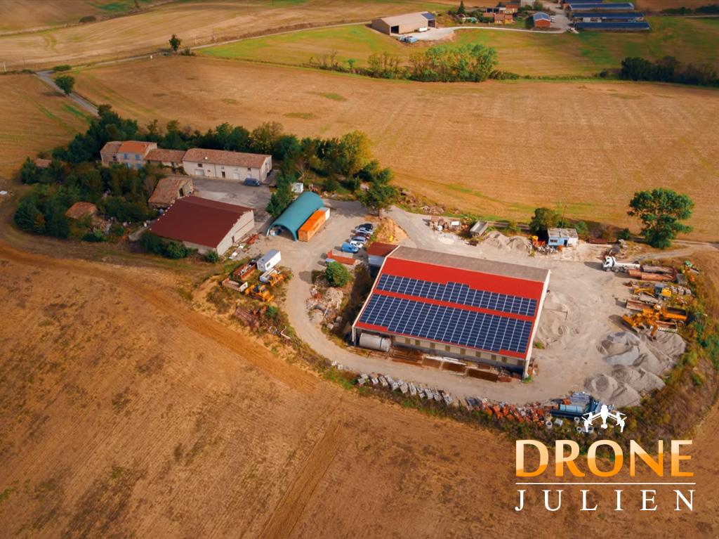 drone pour video entreprise occitanie
