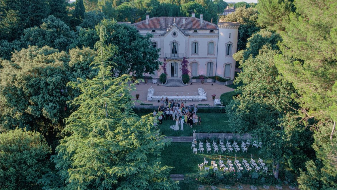 drone mariage Montpellier