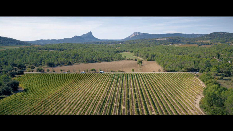 Drone domaine et vignoble Hérault